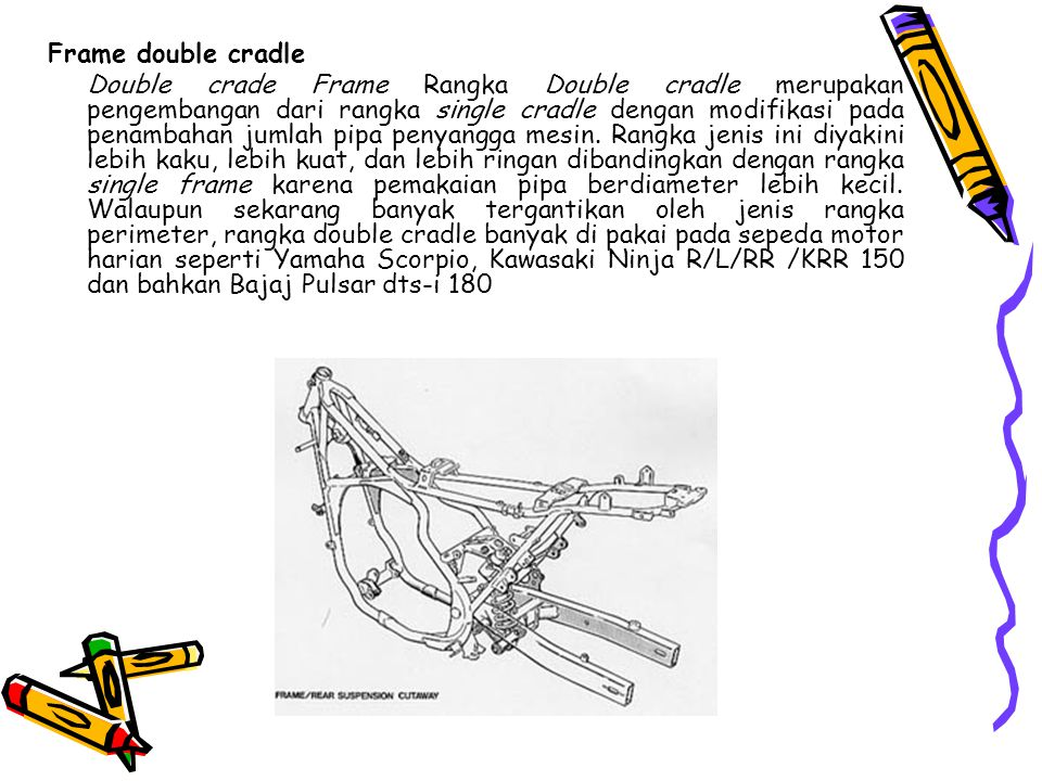 Frame double cradle