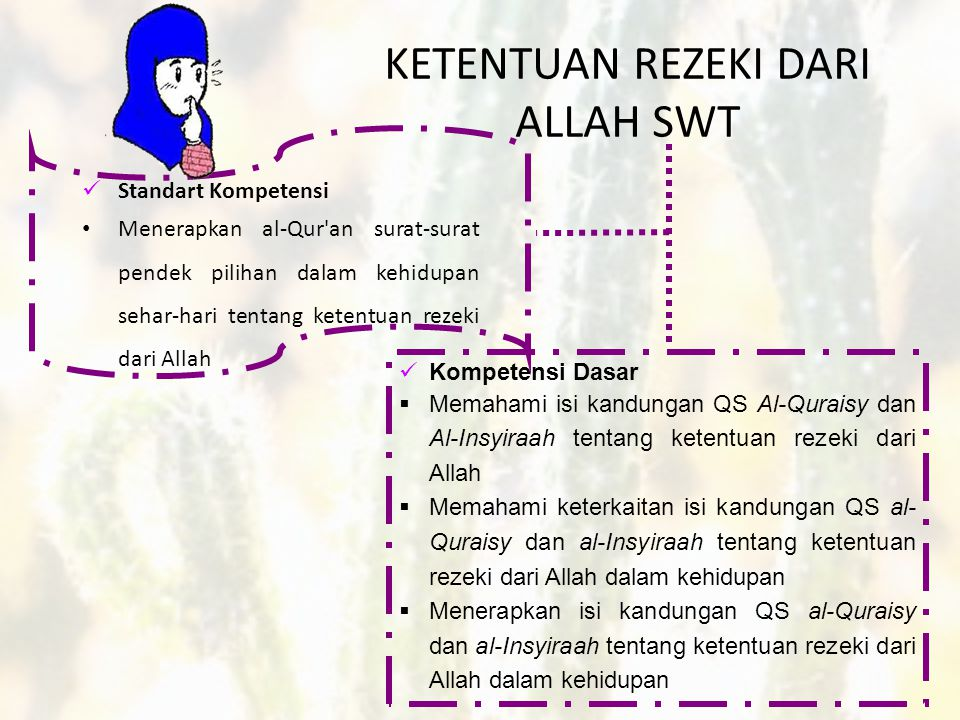 Ketentuan Rezeki Dari Allah Swt Oleh Qosim Abdullah D Ppt