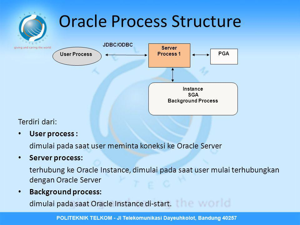 Oracle Process Structure