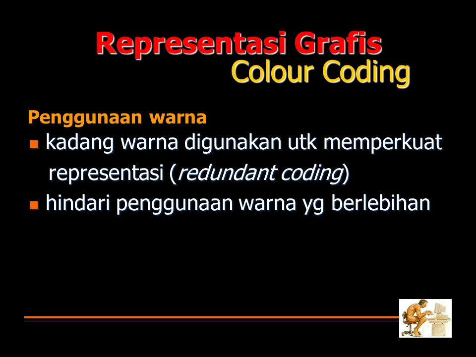 Representasi Grafis Colour Coding
