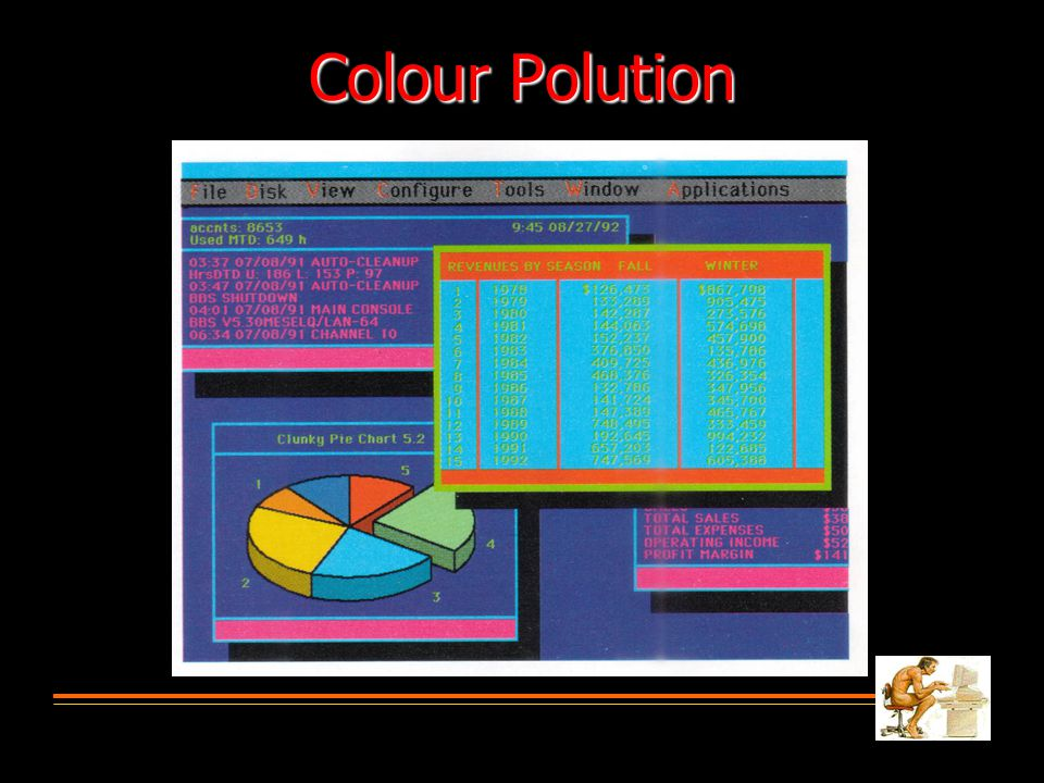 Colour Polution
