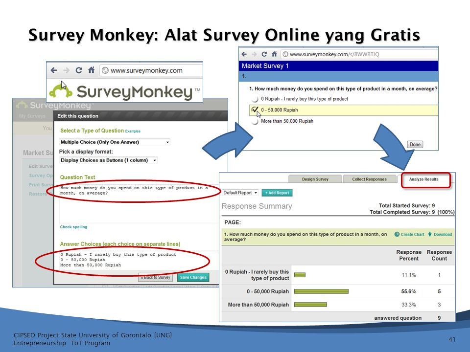 Survey Monkey: Alat Survey Online yang Gratis