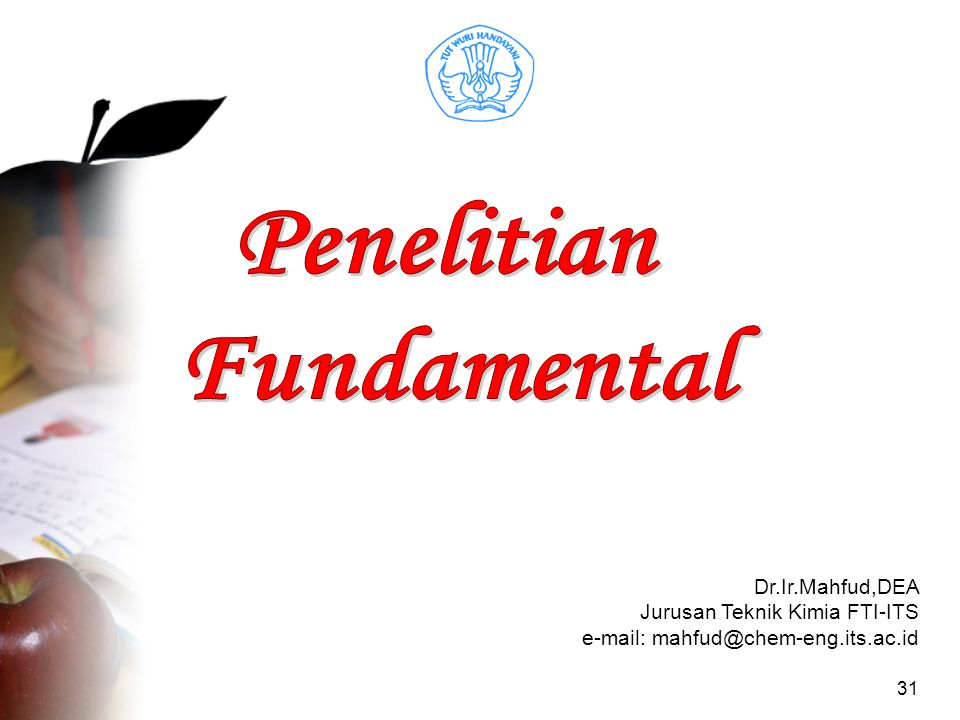 Penelitian Fundamental