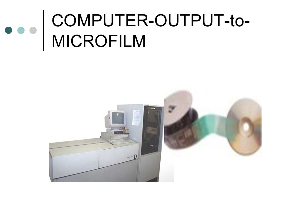 COMPUTER-OUTPUT-to-MICROFILM