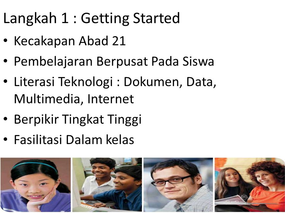 Langkah 1 : Getting Started