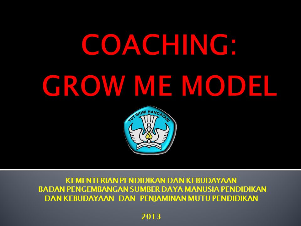 COACHING: GROW ME MODEL