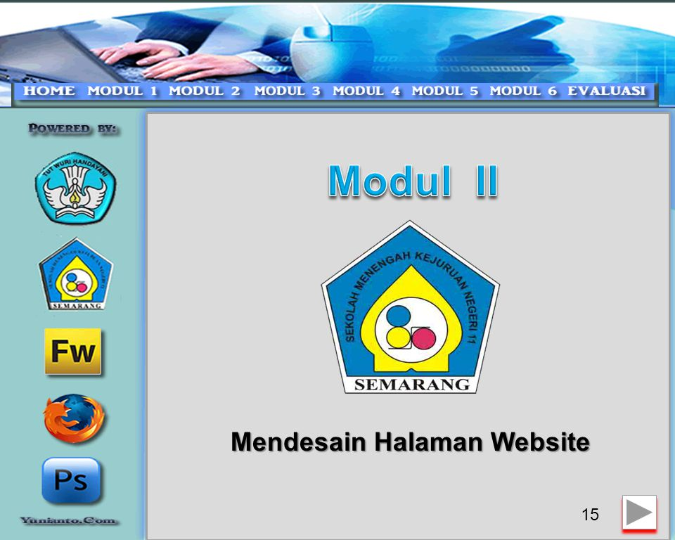 Mendesain Halaman Website