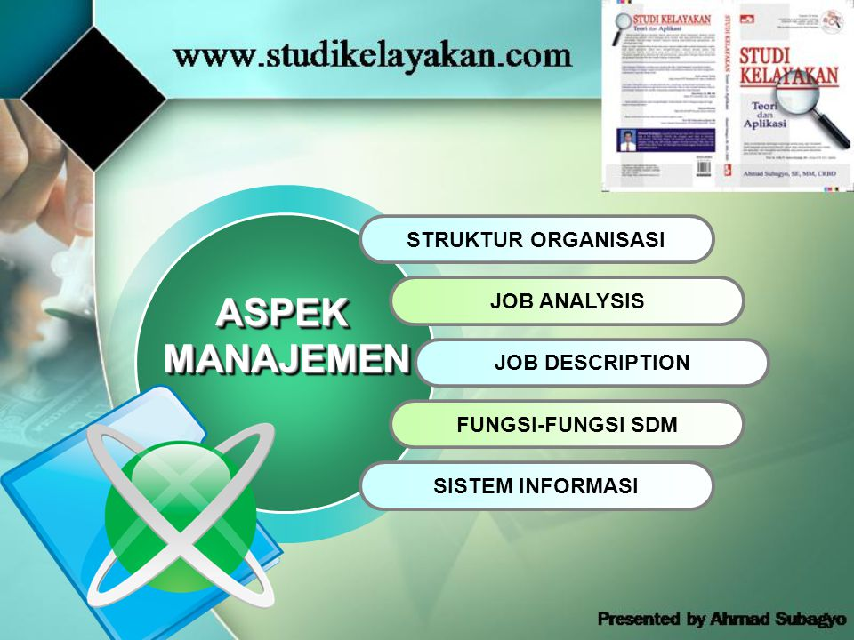 ASPEK MANAJEMEN STRUKTUR ORGANISASI JOB ANALYSIS JOB DESCRIPTION