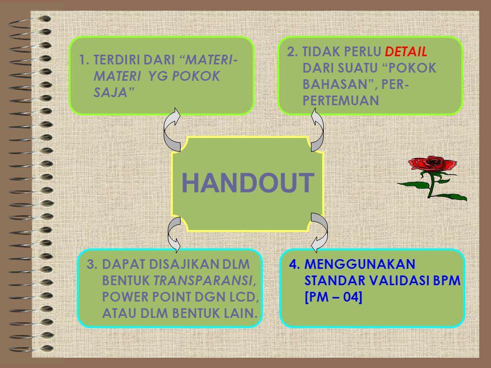 Modul Handout Dan Diktat Ppt Download