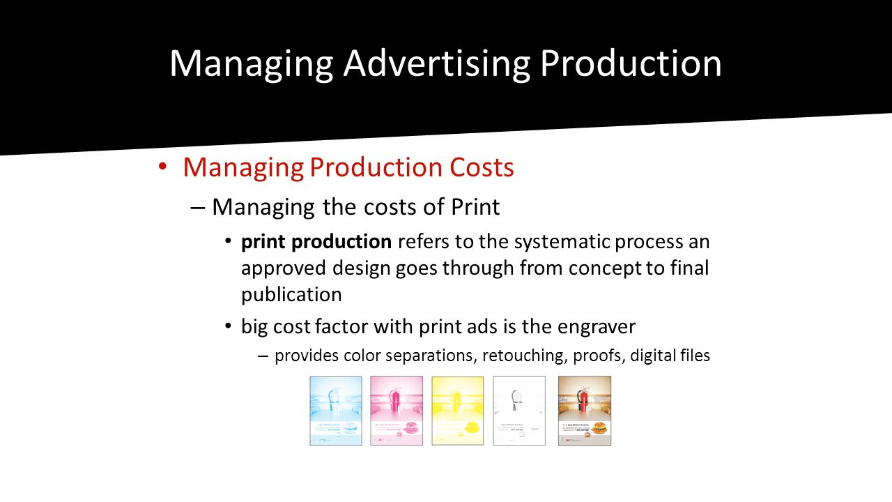 Managing Advertising Production