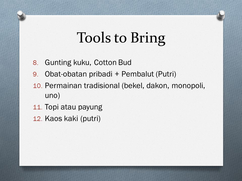Tools to Bring Gunting kuku, Cotton Bud