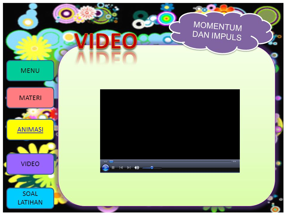 VIDEO MENU MATERI ANIMASI VIDEO SOAL LATIHAN