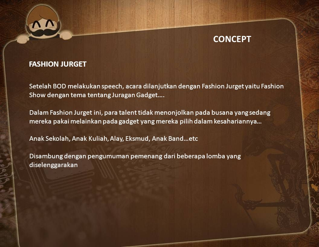 CONCEPT FASHION JURGET