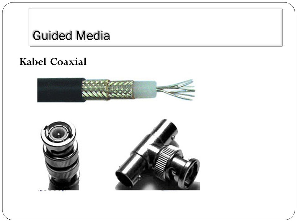 3/30/2011 Guided Media Kabel Coaxial