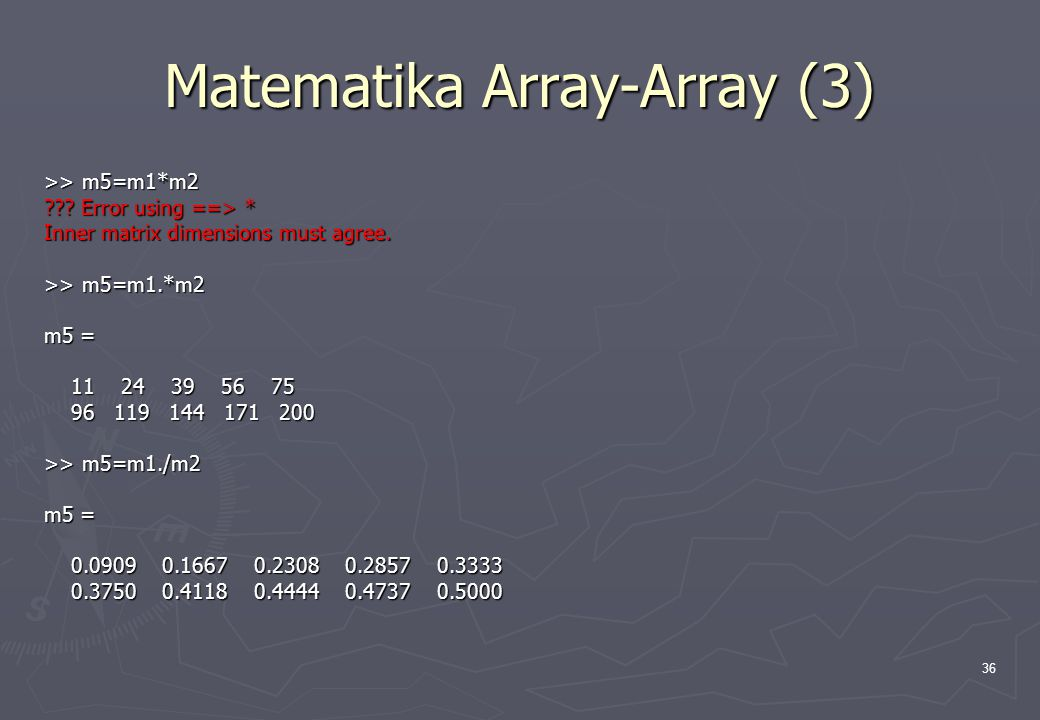 Matematika Array-Array (3)