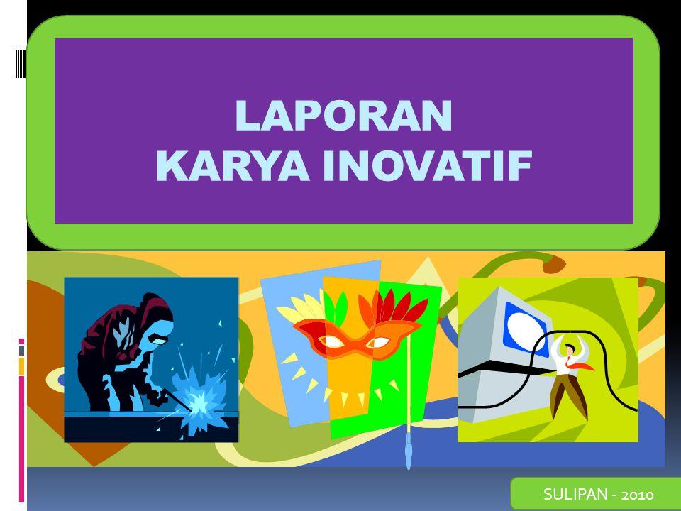 Contoh Laporan Karya Inovatif Guru Sd Kumpulan Contoh Laporan