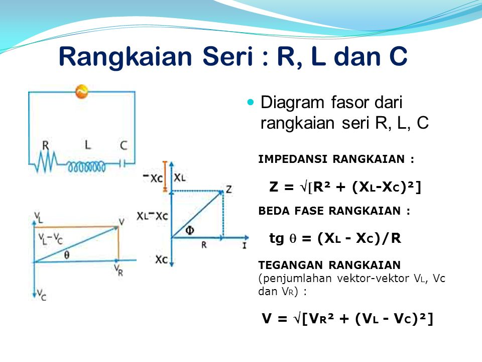 Listrik bolak balik alternating current ac ppt download 12 rangkaian seri r l ccuart Image collections