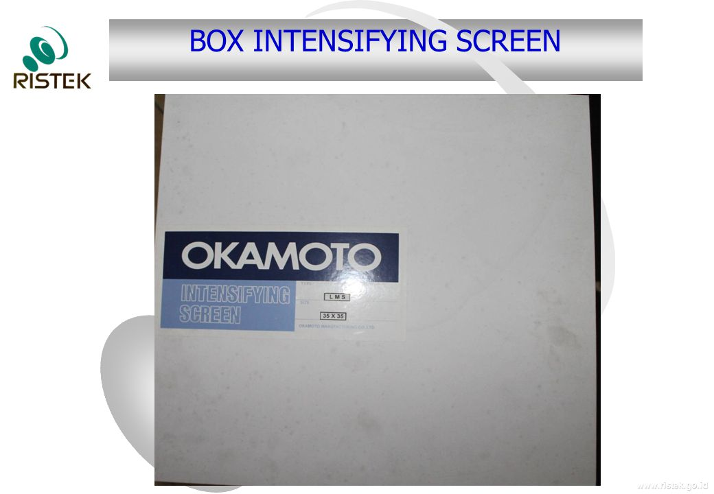BOX INTENSIFYING SCREEN