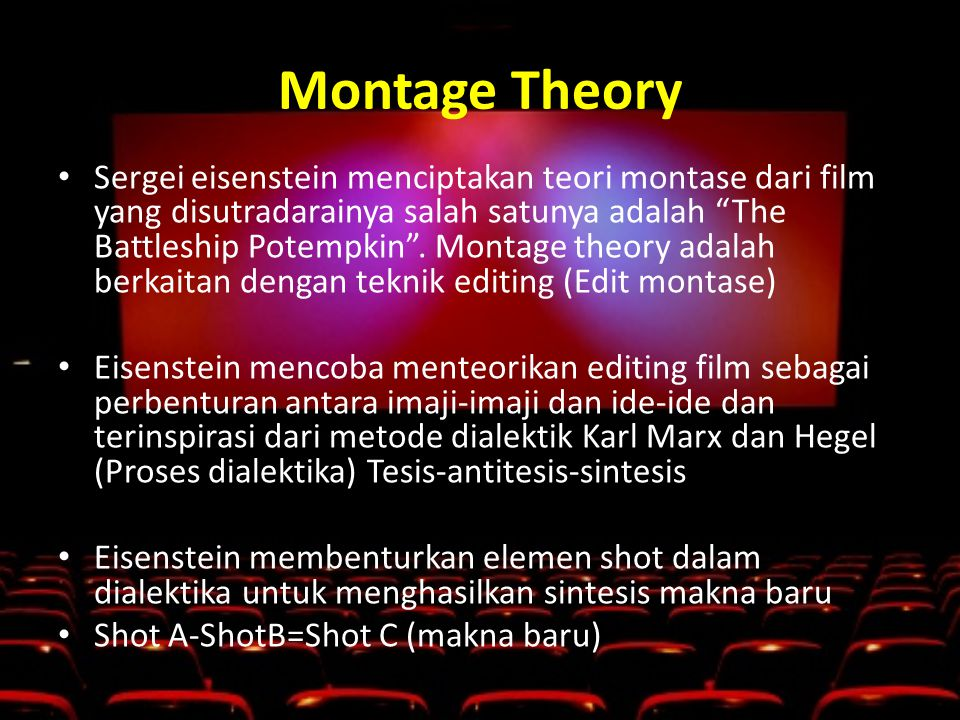 Montage Theory