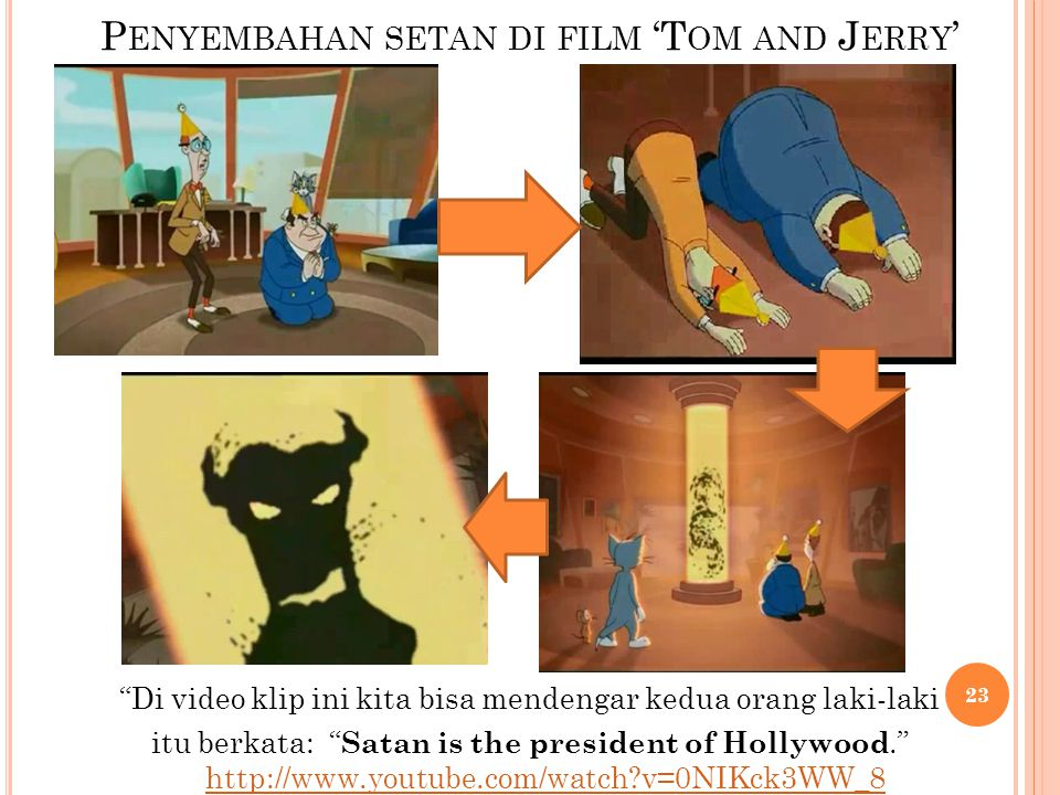 Penyembahan setan di film 'Tom and Jerry'