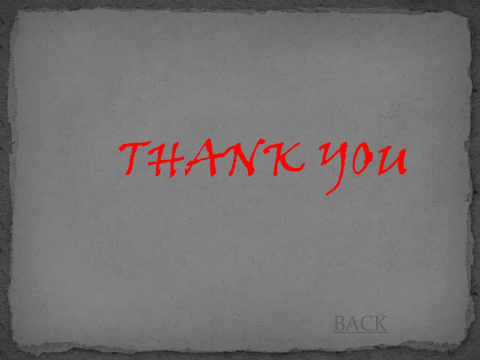 THANK YOU BACK
