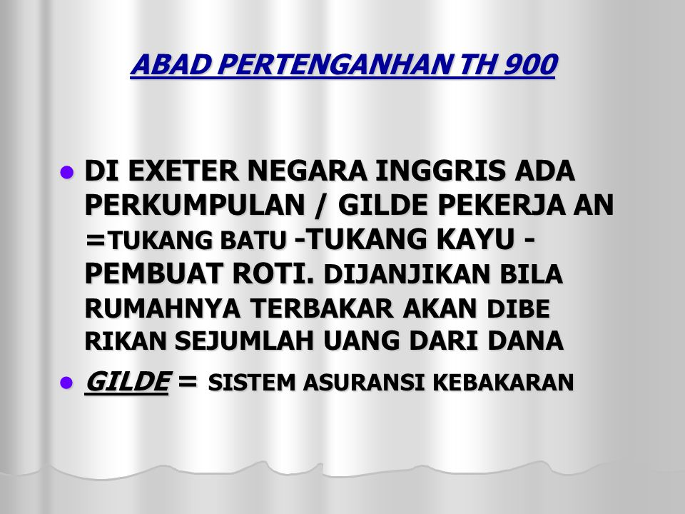 ABAD PERTENGANHAN TH 900