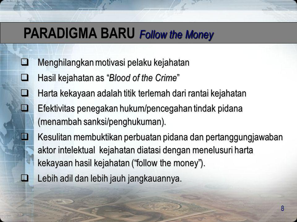 PARADIGMA BARU Follow the Money