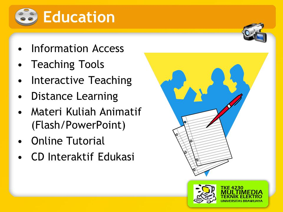 Education Information Access Teaching Tools Interactive Teaching