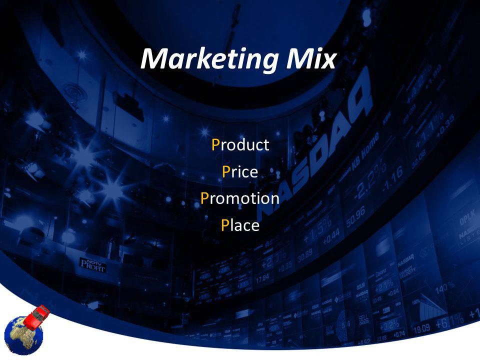 Marketing Mix Product Price Promotion Place