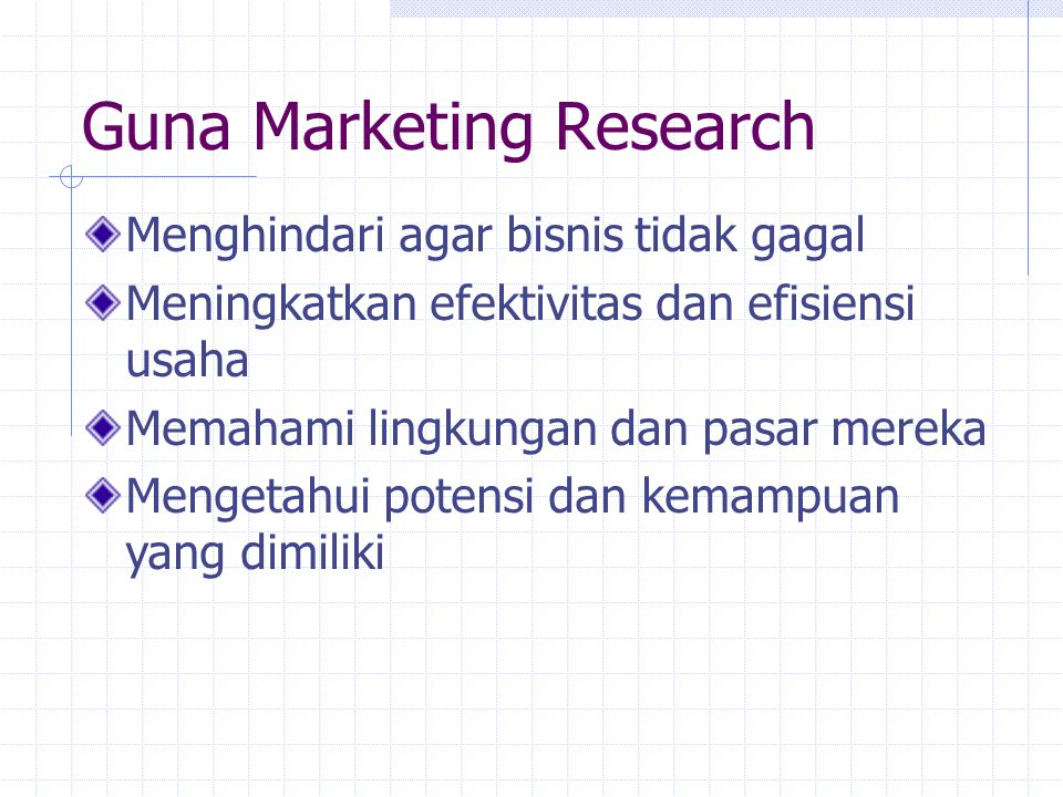 Guna Marketing Research