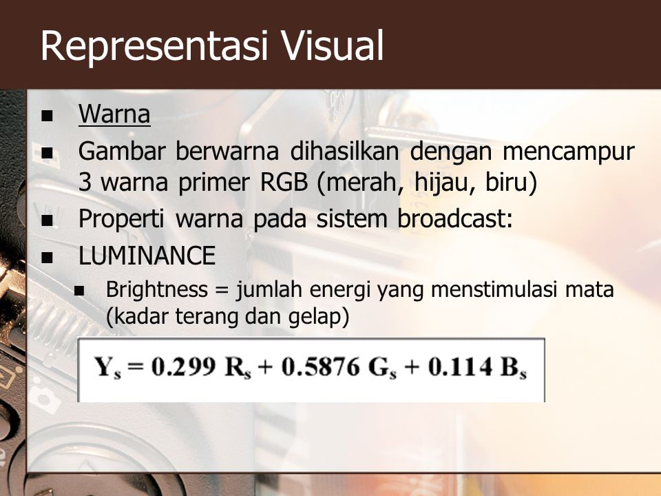 Representasi Visual Warna
