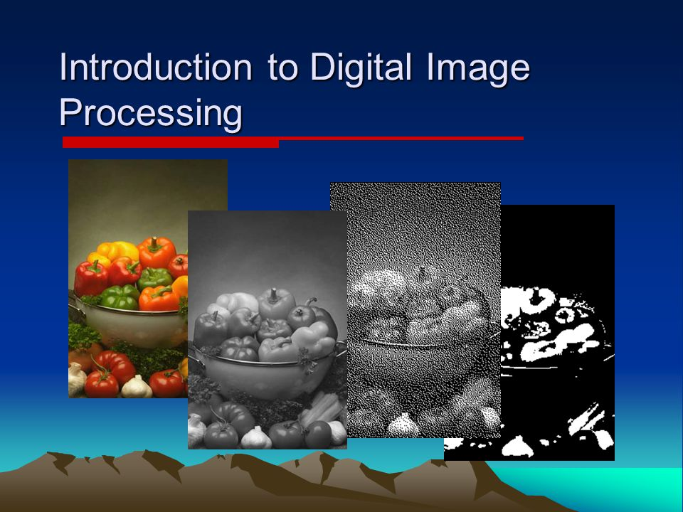 Introduction to Digital Image Processing