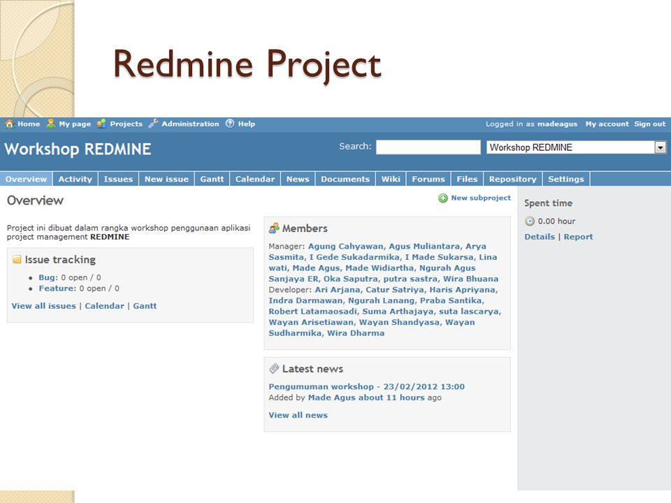 Redmine Project