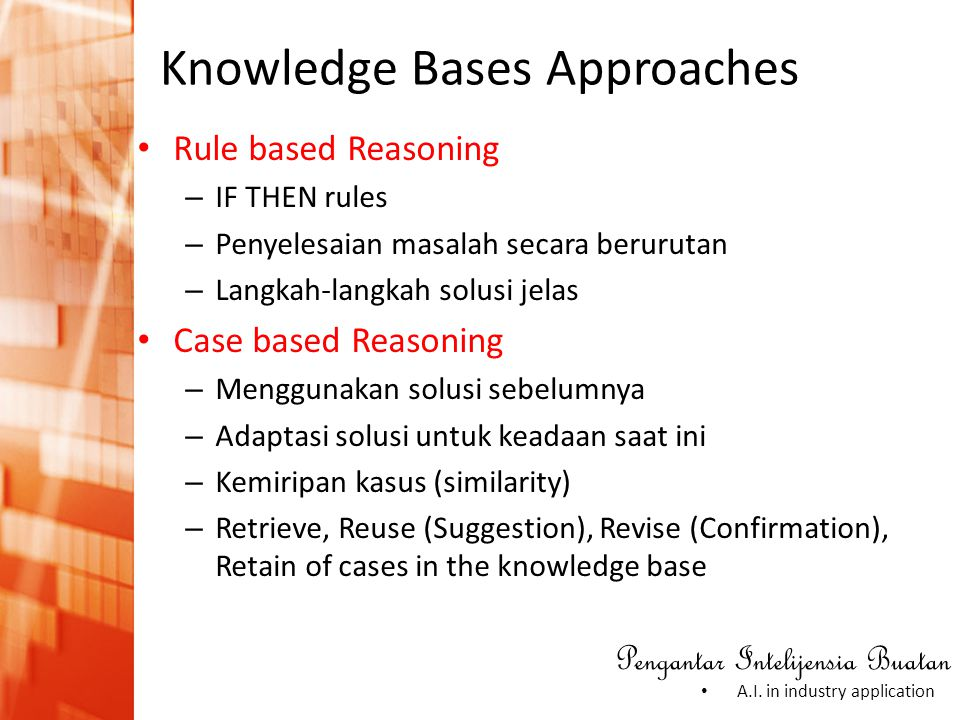 Knowledge Bases Approaches