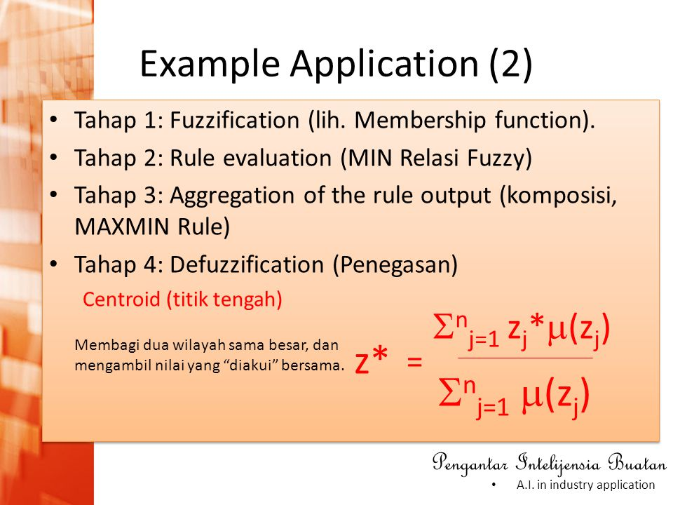 Example Application (2)