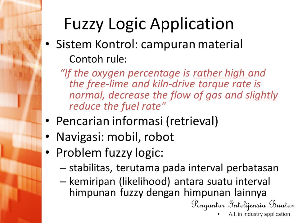 Fuzzy Logic Application