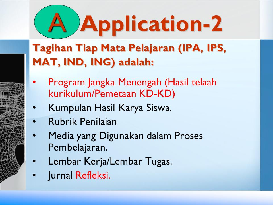 A Application-2 Tagihan Tiap Mata Pelajaran (IPA, IPS,