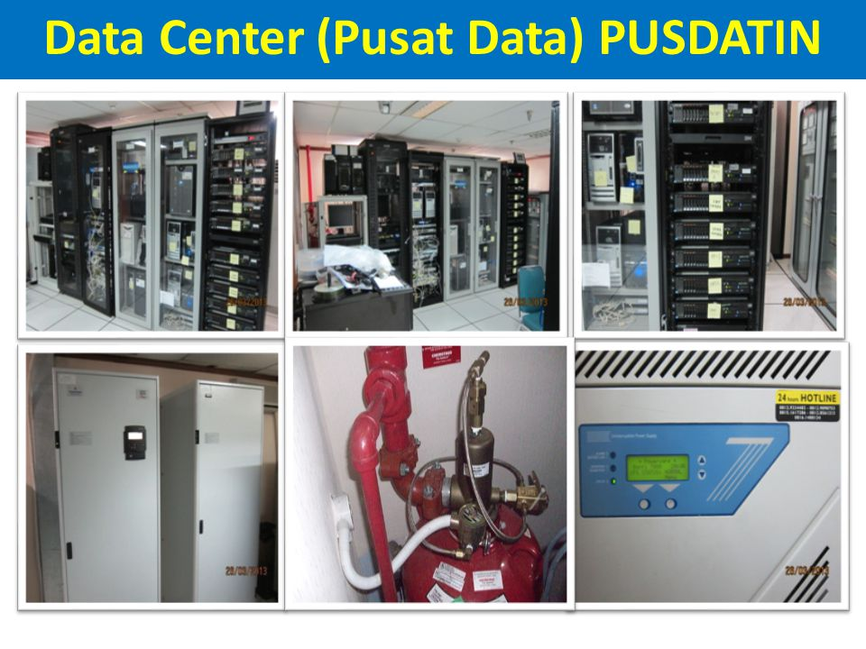 Data Center (Pusat Data) PUSDATIN