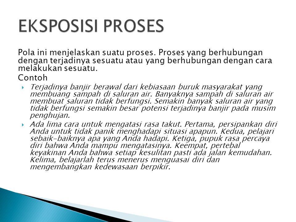 Eksposisi Definisi Eksposisi Proses Eksposisi Klasifikasi Ppt Download