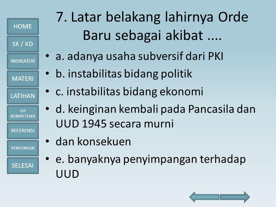 Pemerintahan Demokrasi Terpimpin Sampai Orde Baru Ppt Download