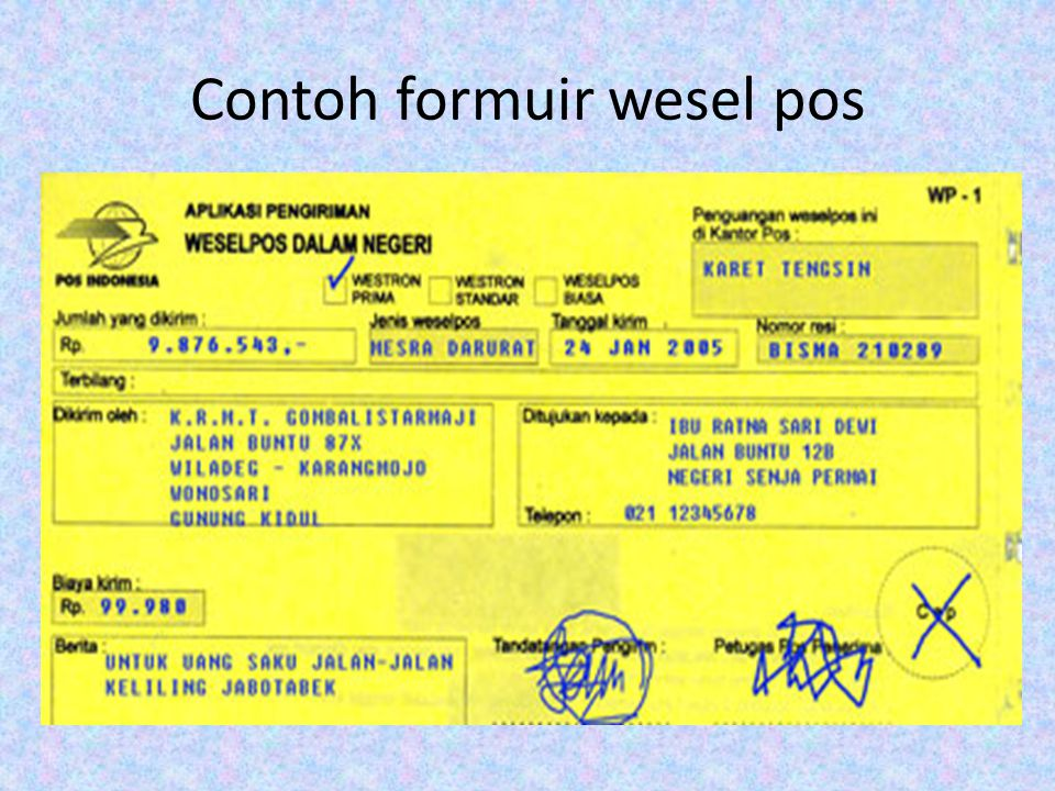 Formulir Standar Kompetensi Ppt Download