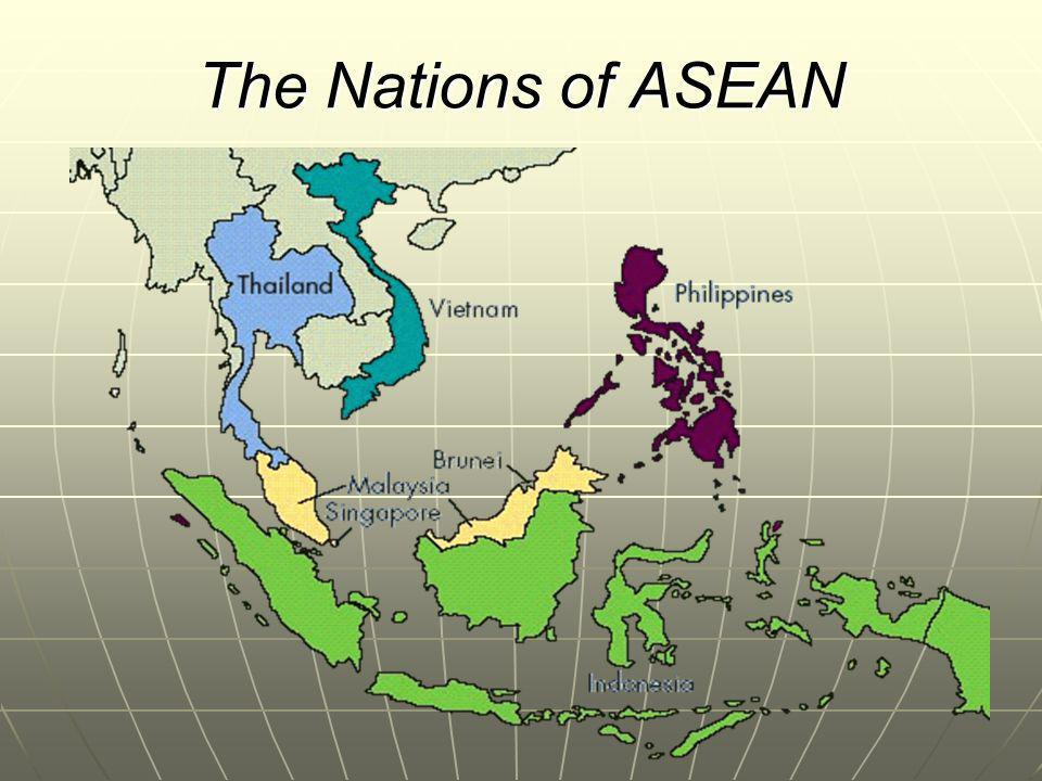 The Nations of ASEAN