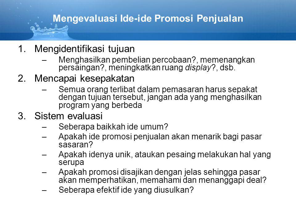 Promosi Penjualan Yang Berorientasi Konsumen Ppt Download