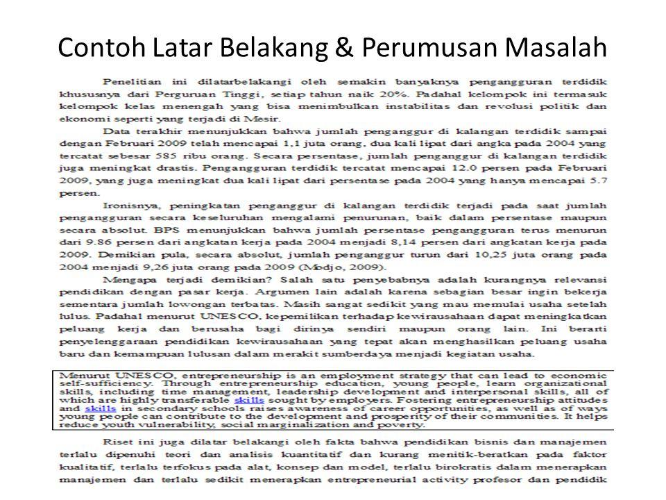 Mereview Judul Latar Belakang Perumusan Masalah Dan Tujuan Ppt Download