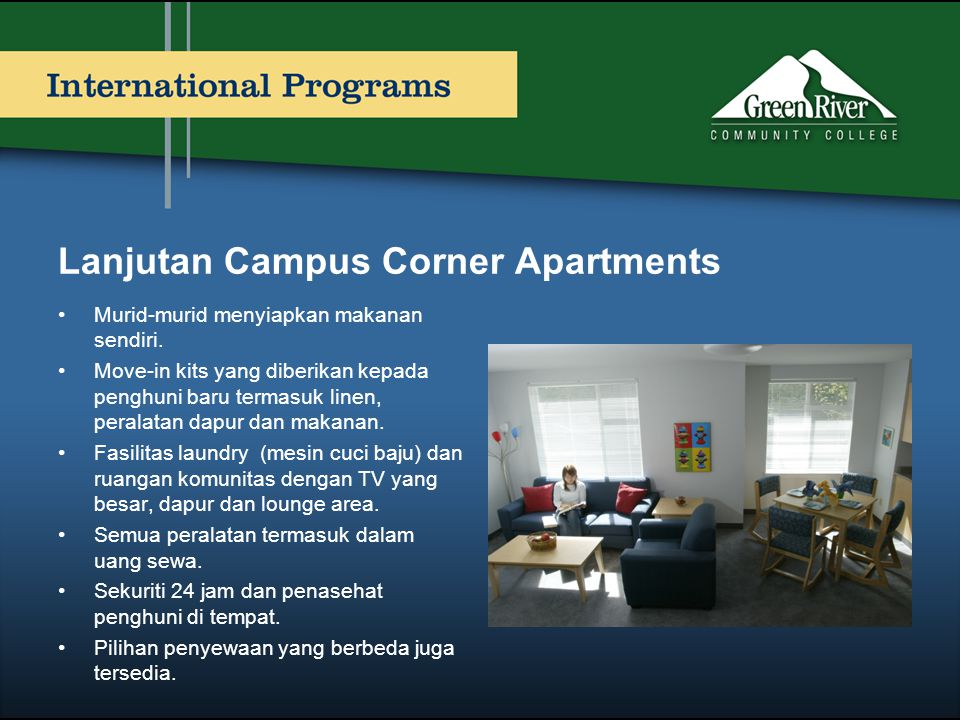Lanjutan Campus Corner Apartments