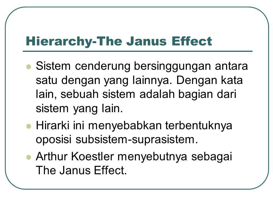 Hierarchy-The Janus Effect