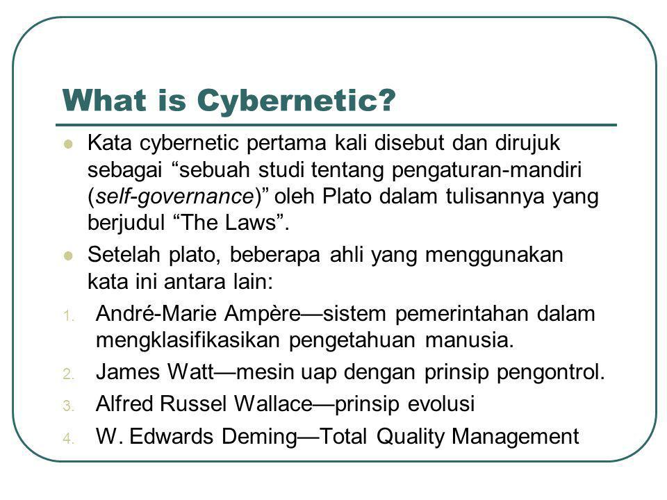 What is Cybernetic