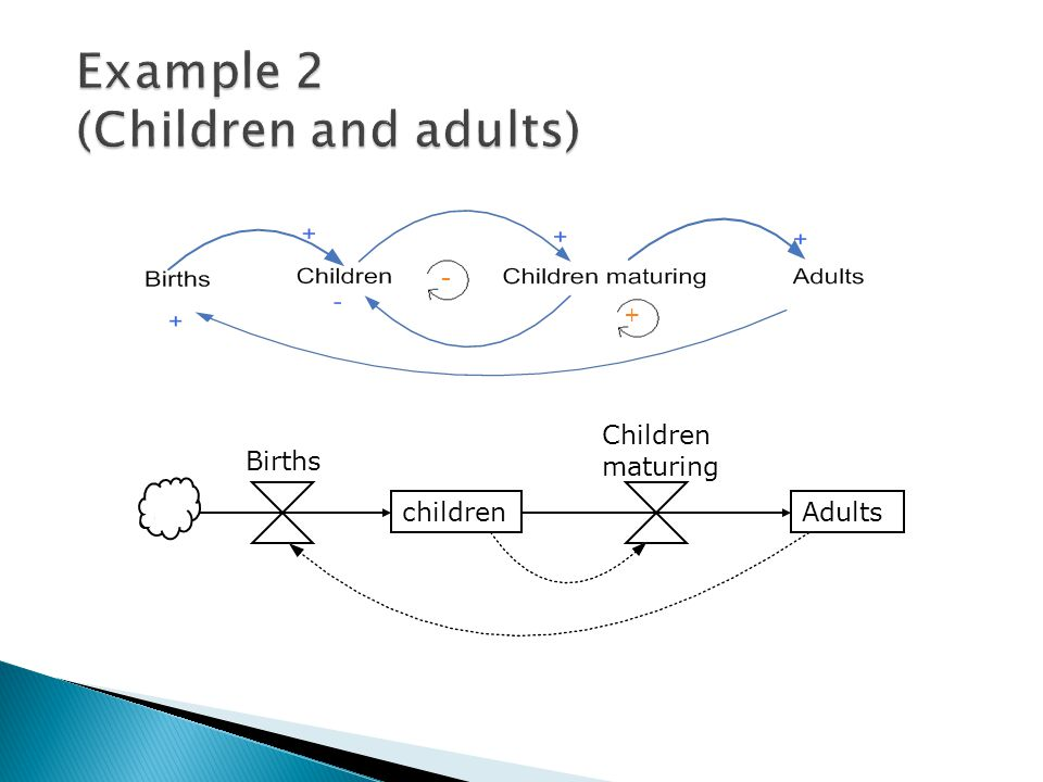 Example 2 (Children and adults)