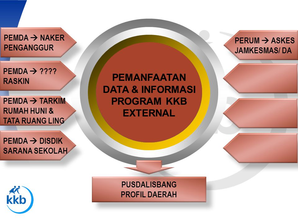 PEMANFAATAN DATA & INFORMASI PROGRAM KKB EXTERNAL