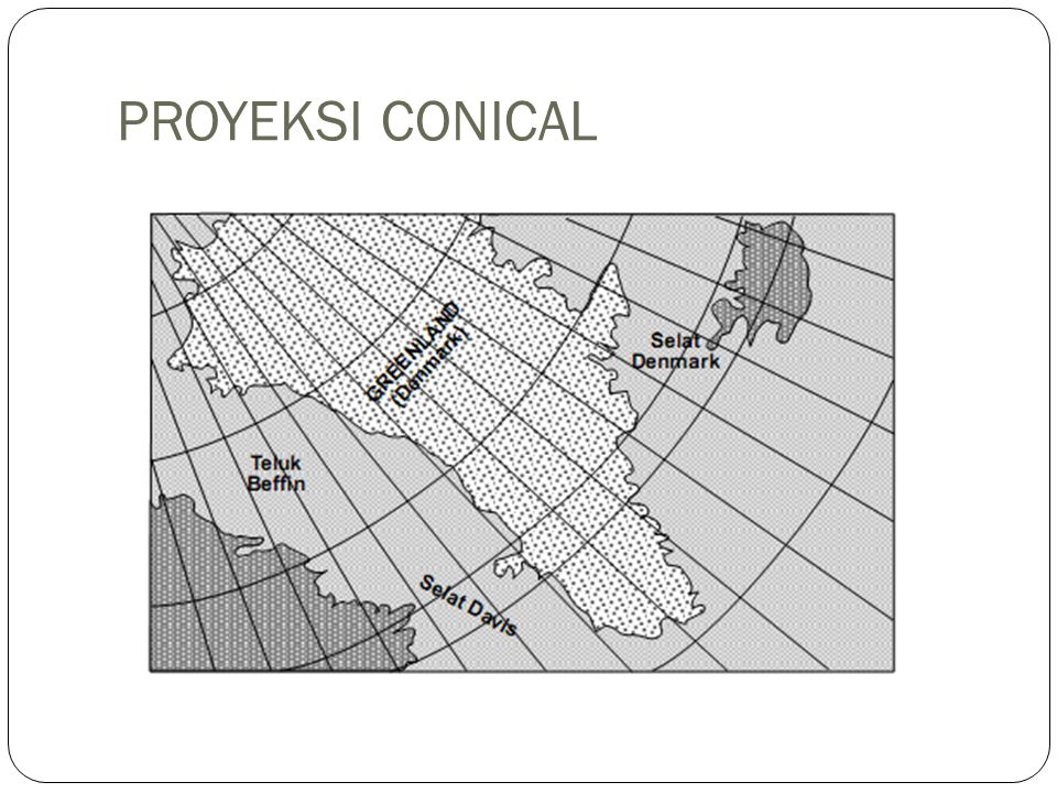 PROYEKSI CONICAL